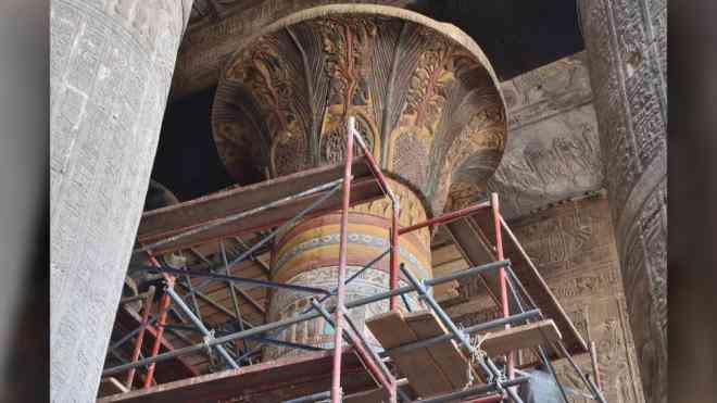 Đền cổ 2.000 tuổi tiết lộ thế giới chưa từng biết - 1