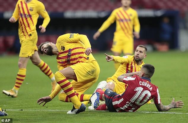Chủ tịch Barca tương lai - Pique khóc vì chấn thương, nguy cơ nghỉ 6 tháng - 1