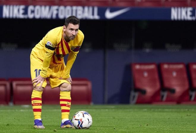 """Messi đá phạt """"mất thiêng"""": Thảm họa sút 48 vào 1, tệ hơn cả Ronaldo - 1"""