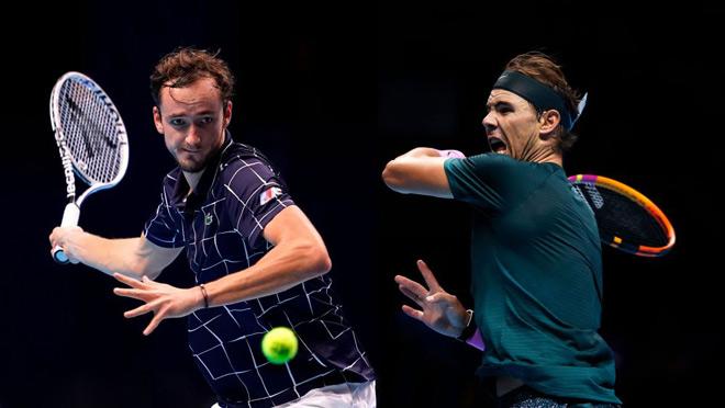 Video tennis Medvedev - Nadal: Sai lầm tai hại, trả giá quá đắt (Bán kết ATP Finals) - 1