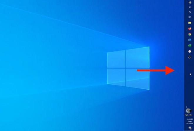 Hướng dẫn chuyển vị trí thanh taskbar trên Windows 10 - 1