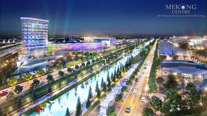 """Đẳng cấp sống """"chuẩn cao cấp"""" tại khu đô thị Mekong Centre - 1"""