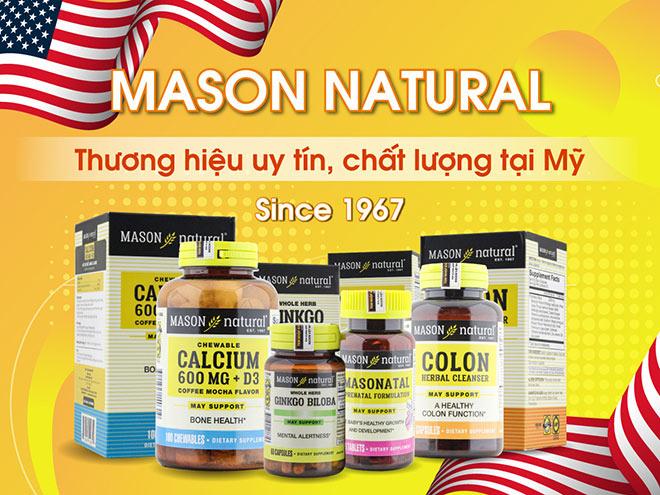 Cách nhận biết các sản phẩm Mason Natural chính hãng tại thị trường Việt Nam - 1