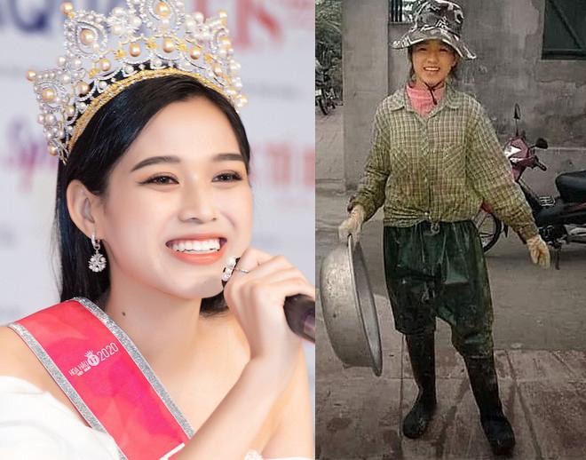 """Lộ cơ ngơi ở quê của Hoa hậu Việt Nam 2020 Đỗ Thị Hà sau ảnh """"cô gái nông dân"""" gây sốt - 1"""