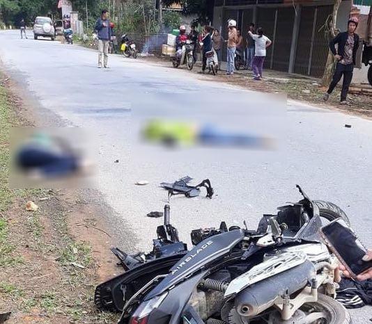 2 phụ nữ tử vong thương tâm sau va chạm khủng khiếp với ô tô 7 chỗ - 1