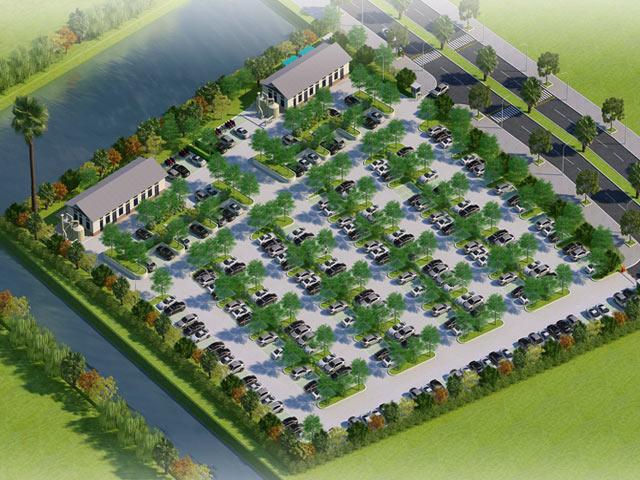 Thiết kế xanh của dự án nhà máy xử lý nước thải thứ 4 khu đô thị Ecopark