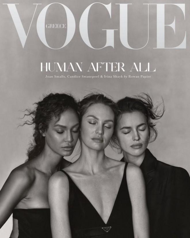 Irina Shayk cùng dàn mẫu quyến rũ hút hồn trên Vogue Hy Lạp - 1