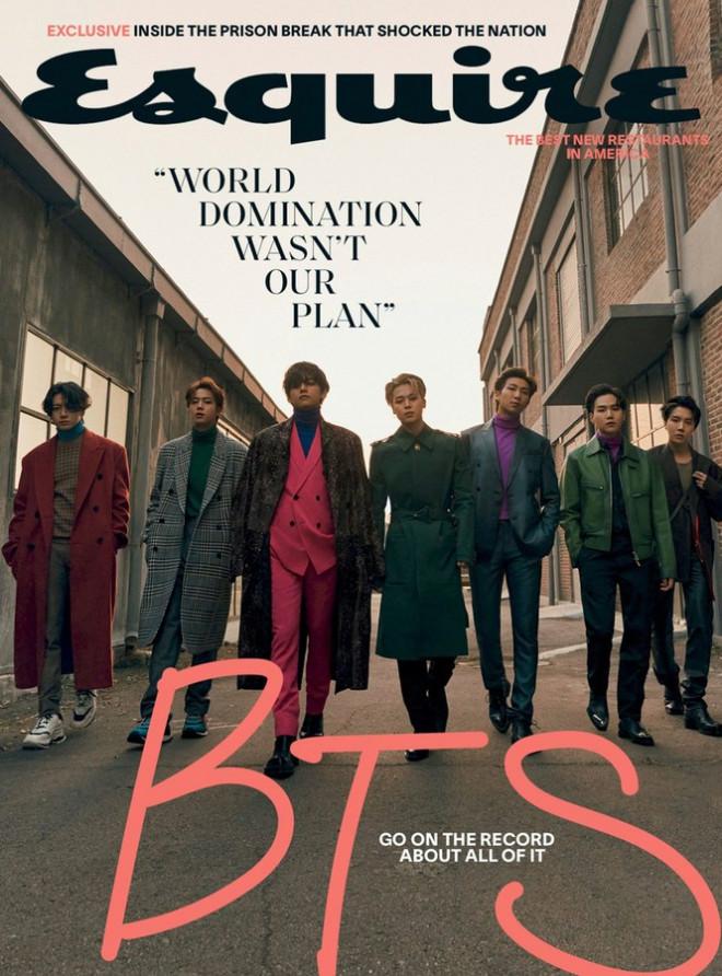 Xuất hiện như người mẫu trên bìa Esquire, BTS chia sẻ quan điểm về sự nam tính - 1
