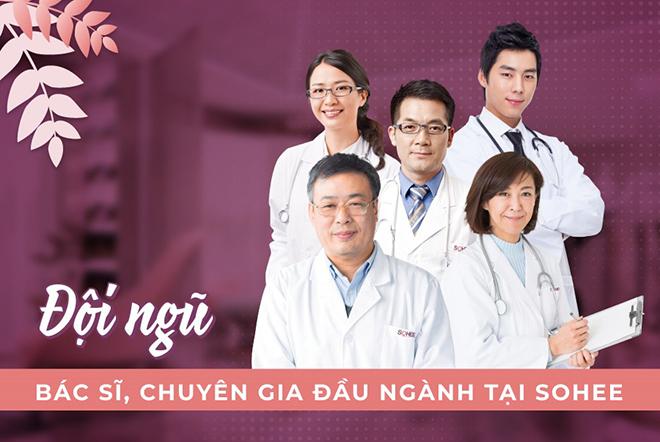 Sohee sở hữu đội ngũ chuyên gia, y bác sĩ tu nghiệp nhiều năm tại các quốc gia đầu ngành thẩm mỹ - 1