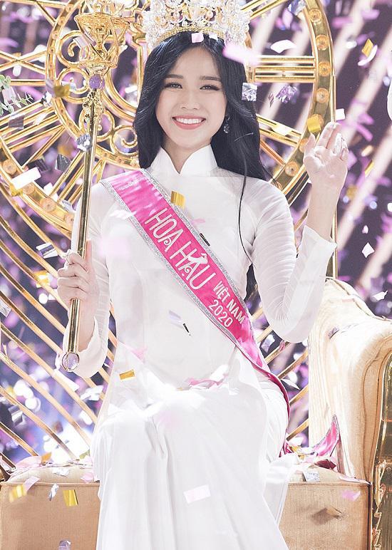 Ngắm nhan sắc ngọt ngào trên giảng đường của Hoa hậu Việt Nam 2020 Đỗ Thị Hà - 1