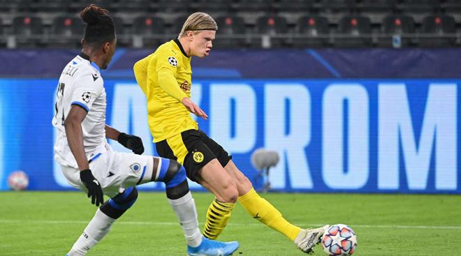 Dortmund - Brugge: Haaland - Sancho tung hứng bàn thắng (Kết quả bóng đá Cúp C1) - 1