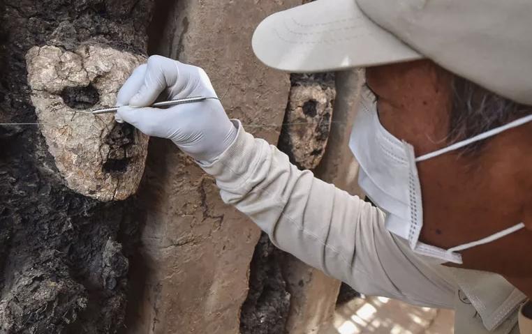 19 bức tượng bị chôn vùi và lãng quên hé lộ bí mật 750 năm trước - 1