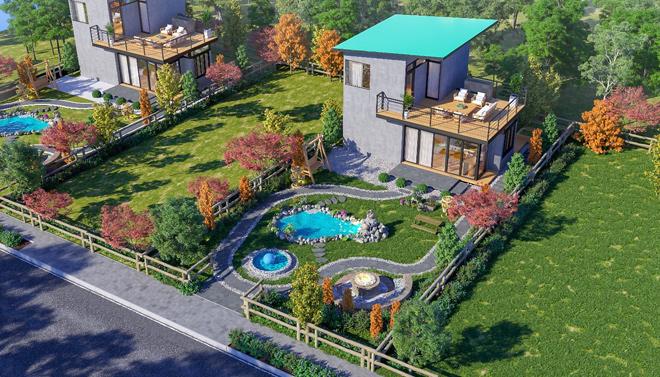 Jade Garden Hill – mô hình homestay một vốn bốn lời ngay trung tâm Bảo Lộc - 1