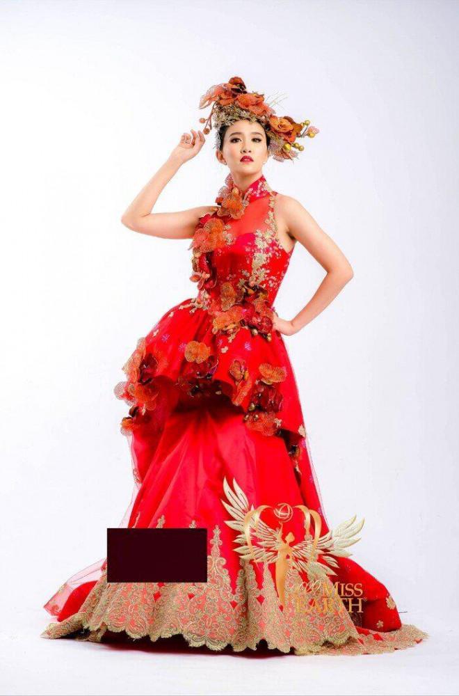 Soi bộ trang phục giúp Thái Thị Hoa giành giải phụ ở Miss Earth 2020 - 3