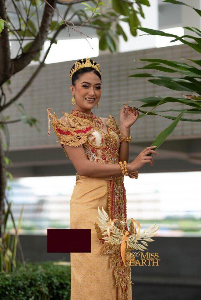 Soi bộ trang phục giúp Thái Thị Hoa giành giải phụ ở Miss Earth 2020 - 11