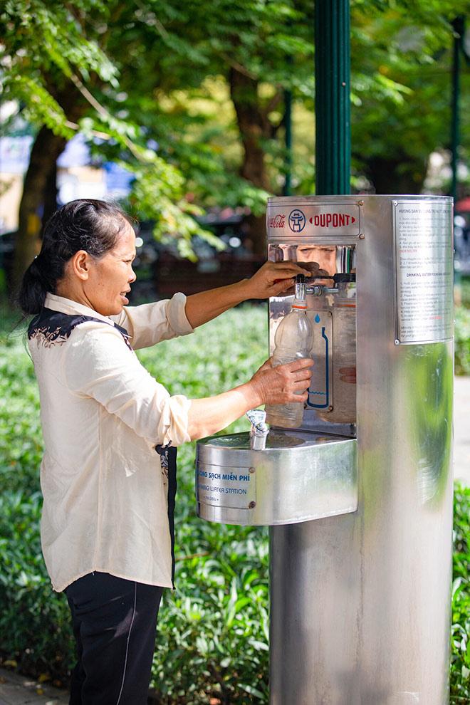 Chung tay cung cấp nước sạch cho người dân thủ đô - 1