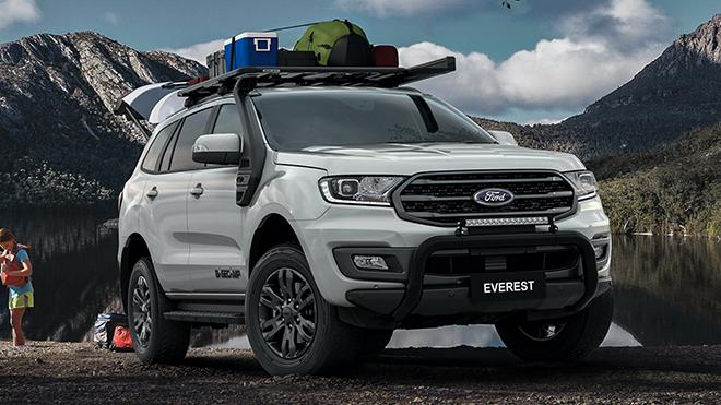 Ford Everest thêm phiên bản BaseCamp dành cho tín đồ mê du lịch tại Úc - 1