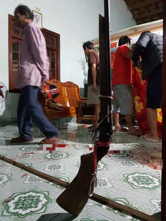 2 vụ nổ súng ở Quảng Nam: Đã xác định được nghi phạm, thu giữ 2 súng săn - 1
