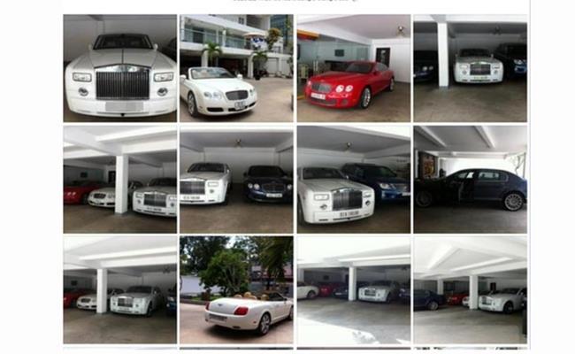 """Phan Thành thường xuyên đăng những tấm ảnh trên facebook khoe việc sở hữu một loạt các siêu xe đắt tiền.Chỉ cần nhìn xe cũng biết vị thiếu gia này rất… """"đẹp trai""""."""