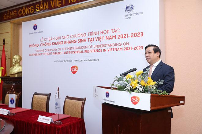 Bộ Y tế, Đại sứ quán Anh và GSK ký kết chương trình hợp tác phòng, chống kháng kháng sinh tại Việt Nam - 1
