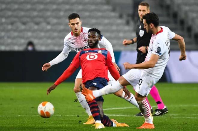 Kết quả bóng đá Europa League, Lille - AC Milan: Bất ngờ Ibrahimovic, định đoạt trong hiệp 2 - 1