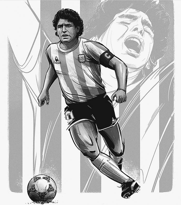 Maradona đã sống những ngày tháng bi kịch cuối đời thế nào? - 1