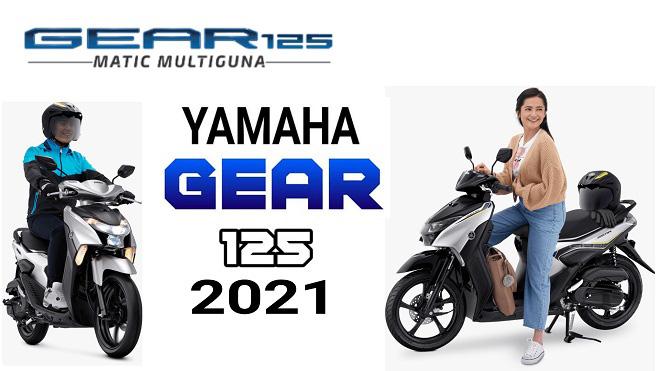 Ra mắt xe tay ga Yamaha GEAR 2021: Giá chỉ 26 triệu đồng - 1