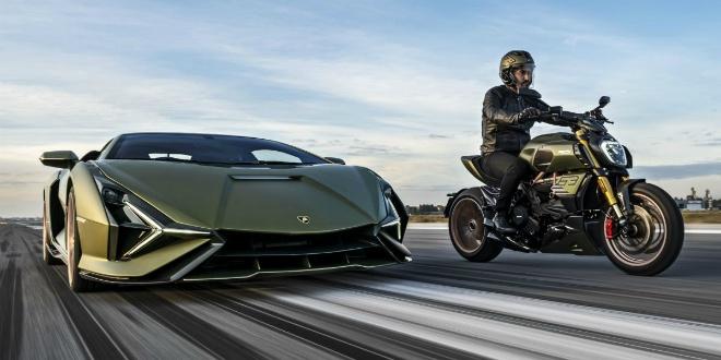 """""""Siêu bò"""" Ducati Diavel 1260 Lamborghini Edition ra mắt, số lượng siêu hiếm - 1"""