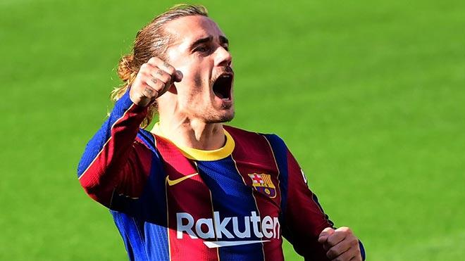 """Griezmann nã đại bác kinh hoàng cho Barca, lấy lại phong độ nhờ """"Suarez mới""""? - 1"""