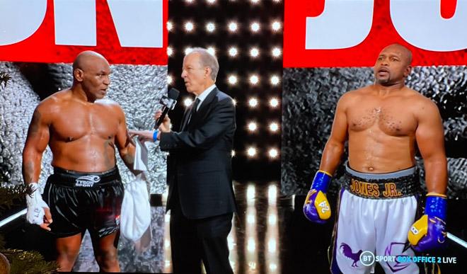 Video boxing Mike Tyson - Roy Jones Jr: Kịch chiến 8 hiệp, kết quả bất ngờ - 1