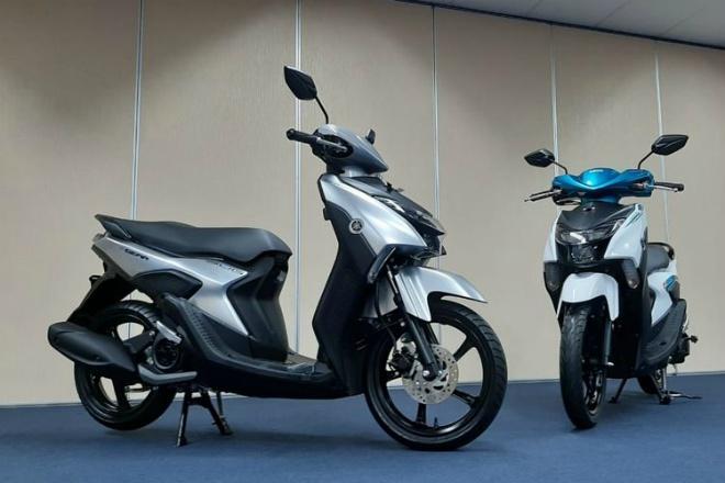 """Chi tiết các phiên bản của """"tân binh"""" 2021 Yamaha Gear 125 - 1"""