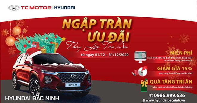 Hyundai Bắc Ninh tri ân khách hàng dịch vụ - 1