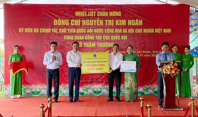 Tập đoàn Dầu khí Việt Nam và các đơn vị thành viên tham gia đoàn công tác Trung ương đến miền Tây Nam bộ - 1