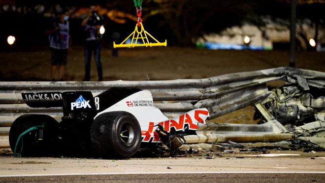 Đua xe F1, Bahrain GP: Tai nạn kinh hoàng, chiến thắng thứ 11 cho Hamilton - 1