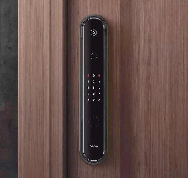 Khóa cửa thông minh bảo mật kép với 7 chế độ mở khóa, pin 12 tháng - 1