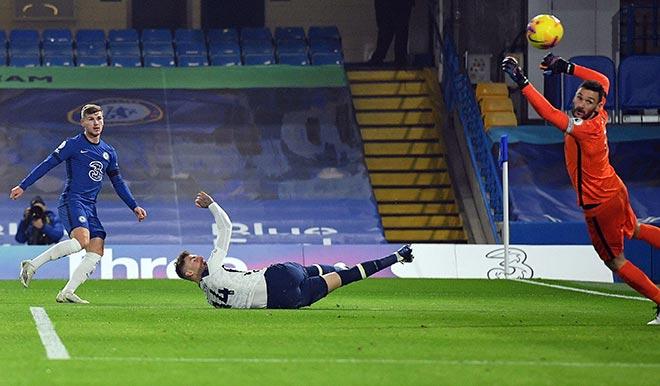 Video Chelsea - Tottenham: Diễn biến ngang ngửa, thót tim sai lầm phút bù giờ - 1