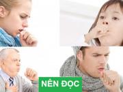 Tin tức sức khỏe - Khi thay đổi thời tiết, cần làm gì để không tái phát đợt cấp hen suyễn, ho, đờm, khó thở