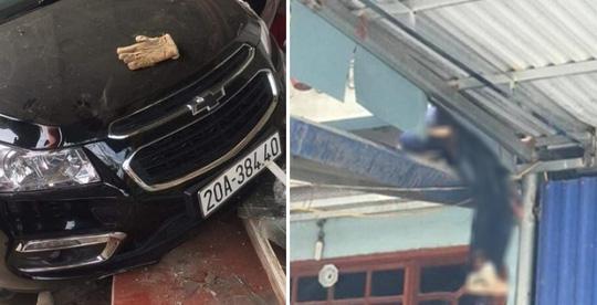 Tin tức 24h qua:Tài xế chưa có bằng lái, mượn ôtô đi dự tiệc tông người văng lên mái nhà - 1