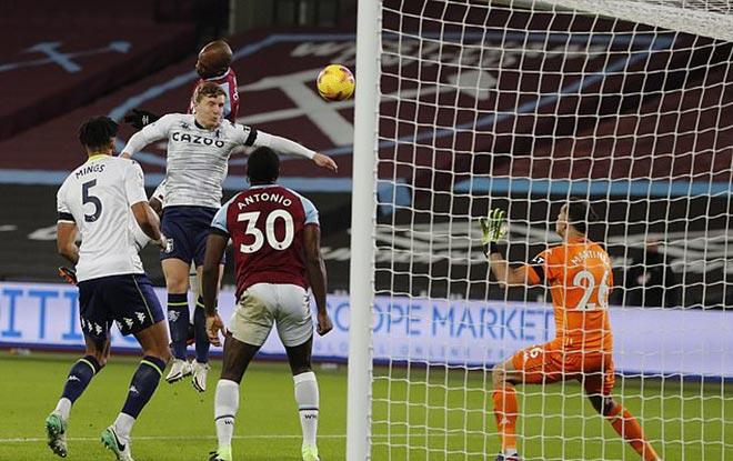 Video West Ham - Aston Villa: Đau đớn penalty đập xà & bàn thắng hụt phút 90+1 - 1