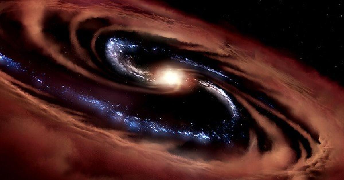 """Sống sót dù bị lỗ đen nuốt, """"quái vật"""" sinh ra 100 """"mặt trời"""" mỗi năm - 1"""