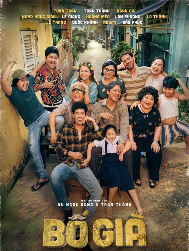 """Phim """"Bố già"""" của Trấn Thành phá hàng loạt kỷ lục tung poster phiên bản điện ảnh - 1"""