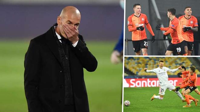 Real nguy cơ bị loại sớm Cúp C1: Báo châu Âu dậy sóng, Zidane có từ chức? - 1