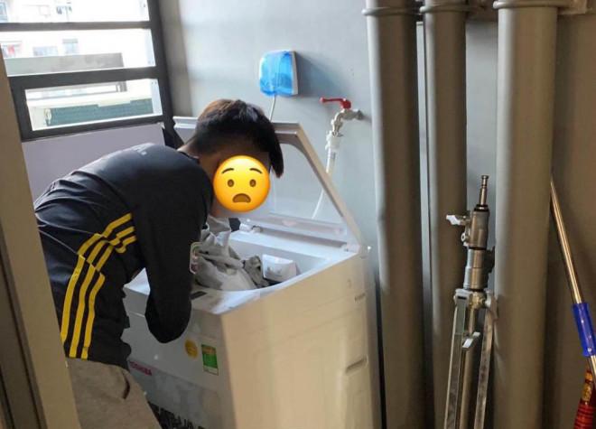 Chồng tinh ăn lười làm, vợ ra chiêu khó lường khiến chàng cun cút giặt đồ trong phút mốt - 1