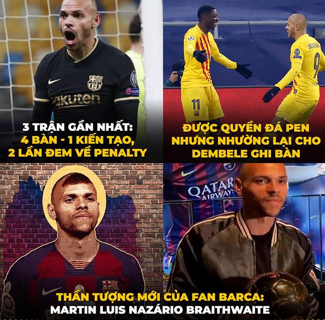 """Ảnh chế: Fan Barca có thần tượng mới """"thay thế"""" Lionel Messi - 1"""