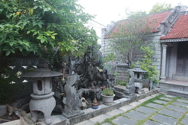 Tiết lộ bất ngờ về ngôi nhà cổ làm bằng đá độc nhất vô nhị ở Ninh Bình - 13
