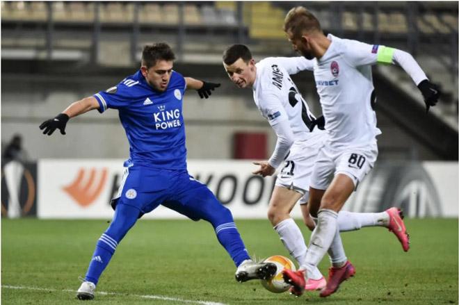 Zorya Luhansk - Leicester: Bắn phá liên hồi, niềm vui cuối trận (Kết quả Europa League) - 1