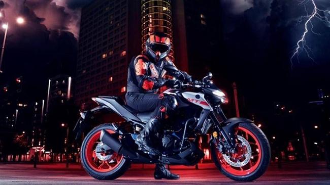 8. Yamaha MT-03 (vận tốc tối đa: 161 km/h)