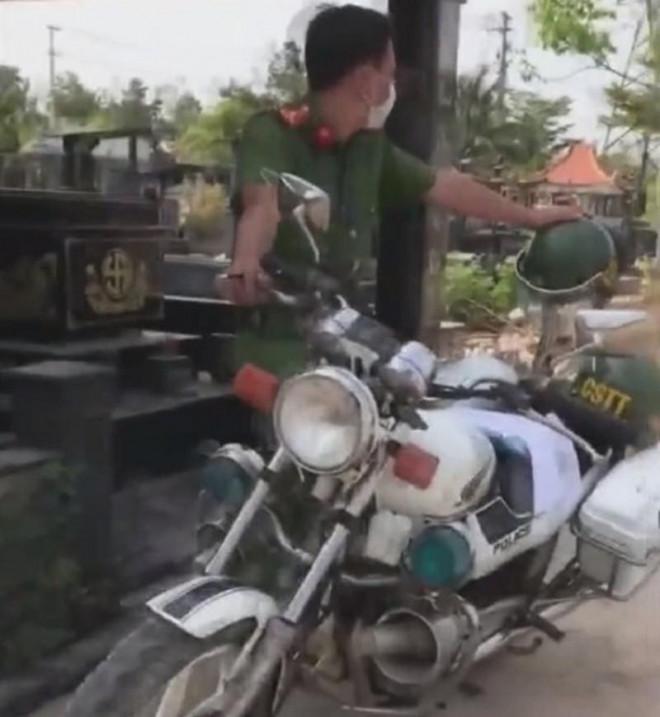 Làm rõ clip CSTT ở Đồng Nai bị 'sếp can thiệp' xe vi phạm - 1