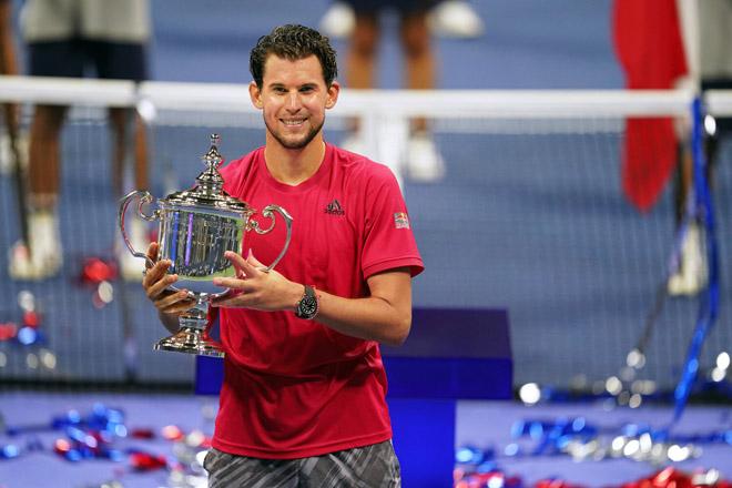 Djokovic, Nadal, Federer coi chừng: Dominic Thiem lăm le ngôi số 1 tennis - 1