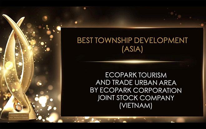 "Ecopark được vinh danh ""best of the best"" tại Asia Property Awards 2020 - 1"